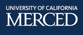 UC Merced logo - knockout