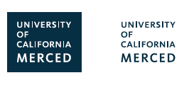 Wordmark logos for UC Merced
